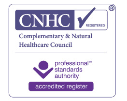 Accredited by the Complementary and Natural Healthcare Council